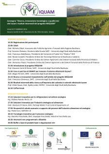 Miglioramento della Qualità dei Vini e dell'Ambiente - 27 Febbraio 2015 - Matera