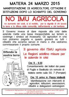 No IMU Agricola  - Matera
