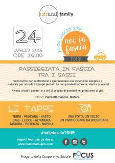 Noi in fascia - Primo Tour Nazionale - 24 Luglio 2015 - Matera