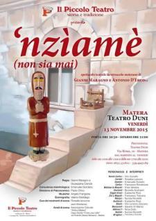 Nziamè - 13 Novembre 2015 - Matera