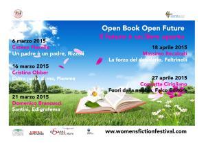 Open book Open future - Women's Fiction Festival - Matera