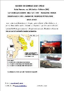 Osservazioni Min. Ambiente ricerche petrolifere Mar Jonio - Matera