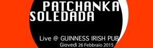 Patchanka Soledada live - 26 Febbraio 2015 - Matera