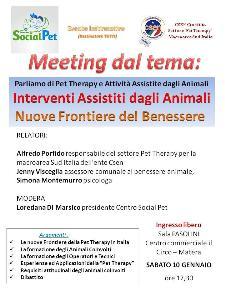Pet Therapy e Attività assistite dagli Animali - 10 Gennaio 2015 - Matera