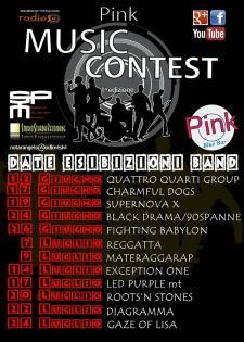 Pink Music Contest  - Matera
