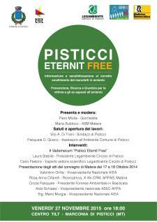 Pisticci Eternit Free - 27 Novembre 2015 - Matera