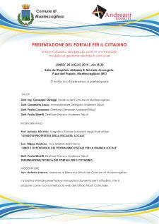 Portale per il cittadino - 20 Luglio 2015 - Matera