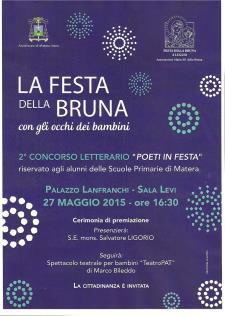 Premiazione Poeti in Festa e Florinda e l'Orco - Teatro di Figura - Matera