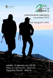 Presentazione calendario escursioni 2015  - Matera