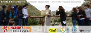 Presentazione dell'HFF - History&Fun Festival 2015  - Matera