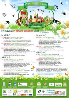 Primavera in Fattoria didattica 2015 - Matera