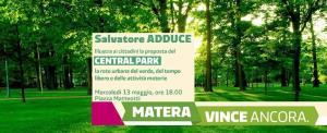 """Progetto """"Central Park"""" - Matera"""