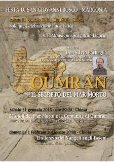 Qumran, il segreto del Mar Morto  - Matera
