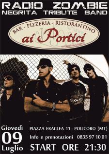 Radio Zombie - Negrita Tribute Band - Matera