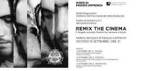 Remix the Cinema. Il Vangelo secondo Pasolini tra memoria e futuro - 10 Settembre 2015 - Matera
