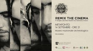 Remix the Cinema. Il Vangelo secondo Pasolini tra memoria e futuro - Matera