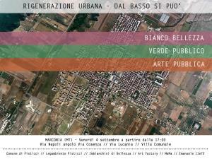 Rigenerazione Urbana dal basso si può  - 4 Settembre 2015 - Matera