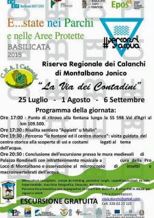 Riserva Regionale dei Calanchi - La via dei contadini - Matera