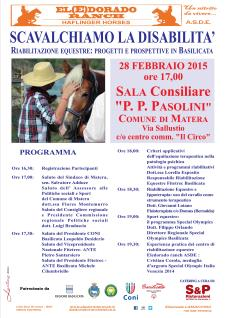 Scavalchiamo la disabilita' - 28 Febbraio 2015 - Matera
