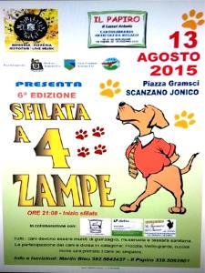 Sfilata a 4 zampe 6°EDIZIONE - 13 Agosto 2015 - Matera
