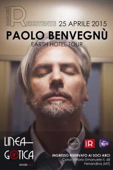 Sonorità Resistente: Paolo Benvegnù live . 25 Aprile 2015 - Matera