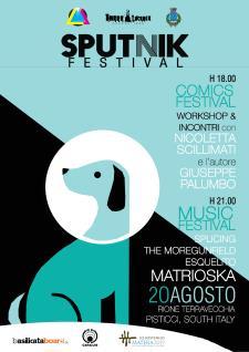 Sputnik Festival II edizione - 20 Agosto 2015 - Matera