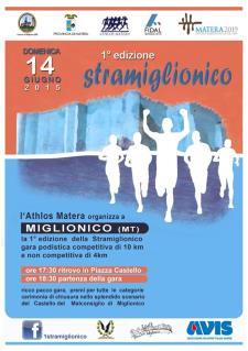 Stramiglionico 1° edizione - 14 Giugno 2015 - Matera