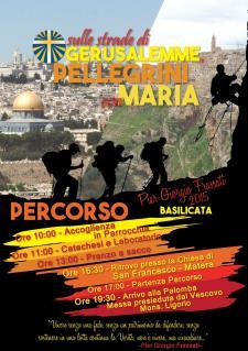 Sulle strade di Gerusalemme Pellegrini con Maria - 4 Luglio 2015 - Matera