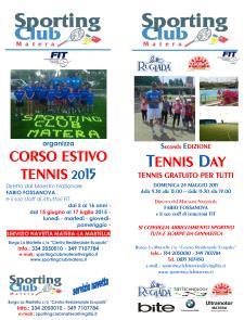 Tennis Day 2015 - 24 Maggio 2015 - Matera