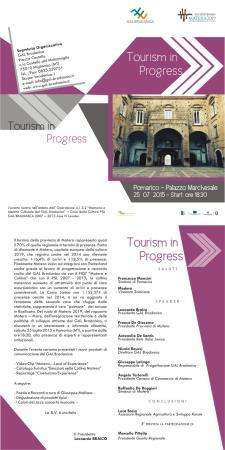 Tourism in Progress - 25 Luglio 2015 - Matera