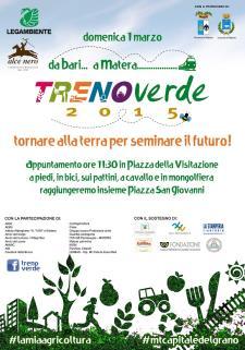Treno Verde 2015  - Matera