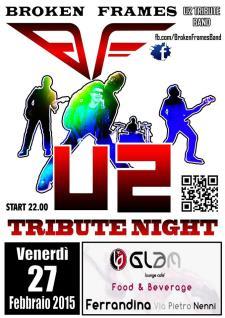U2 Tribute Night - 27 Febbraio 2015 - Matera
