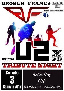 U2 Tribute Night Live - 3 Gennaio 2015 - Matera