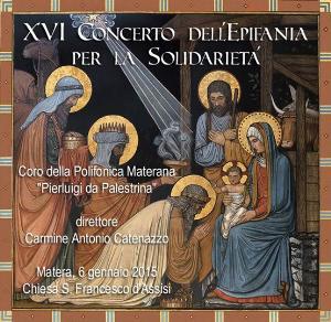 XVI Concerto dell'Epifania - 6 Gennaio 2015 - Matera