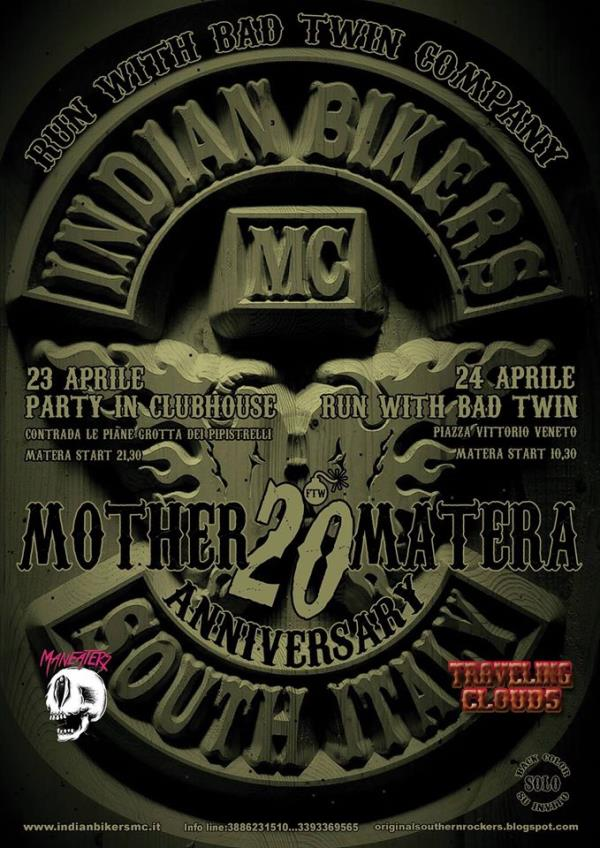 20° Anniversary Party - Run with Bad Twin Company