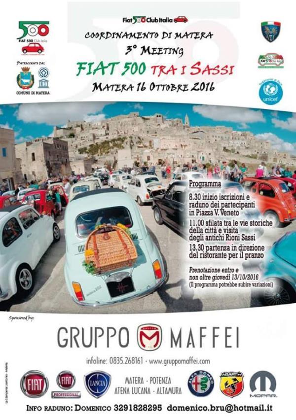 3° Meeting Fiat 500 tra Sassi