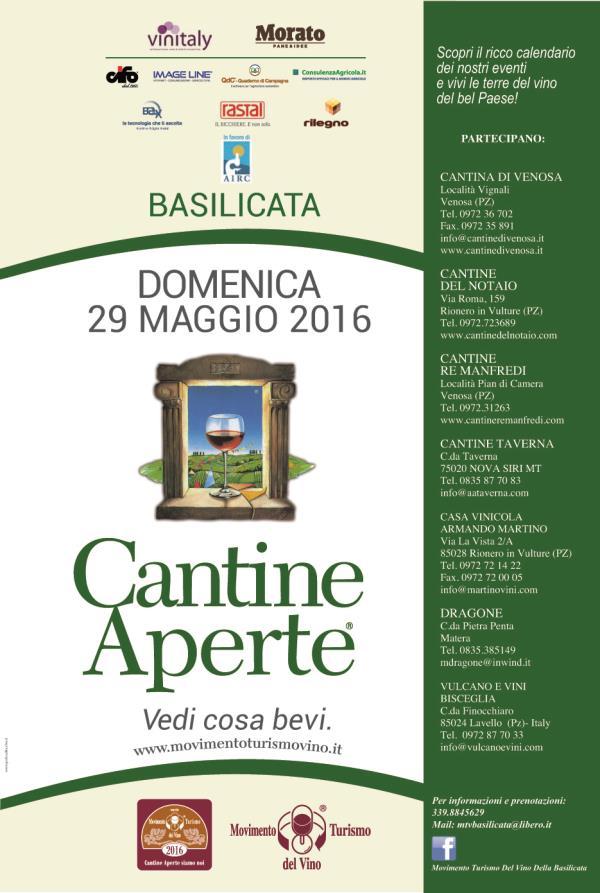 Cantine aperte - 29 Maggio 2016