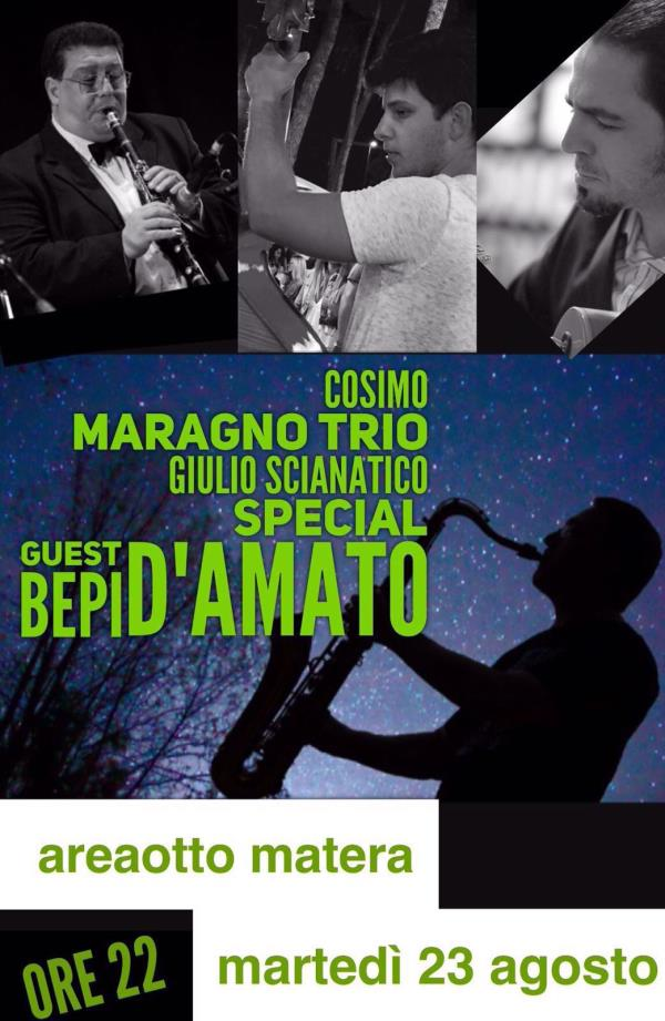 Cosimo Maragno Trio all´ Area8 - 23 agosto 2016