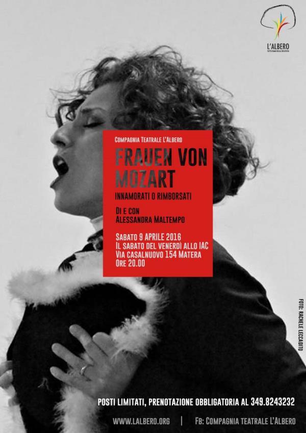 Frauen von Mozart - 9 Aprile 2016