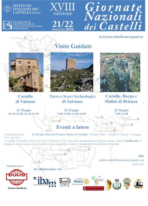 Giornate Nazionali dei Castelli XVIII edizione