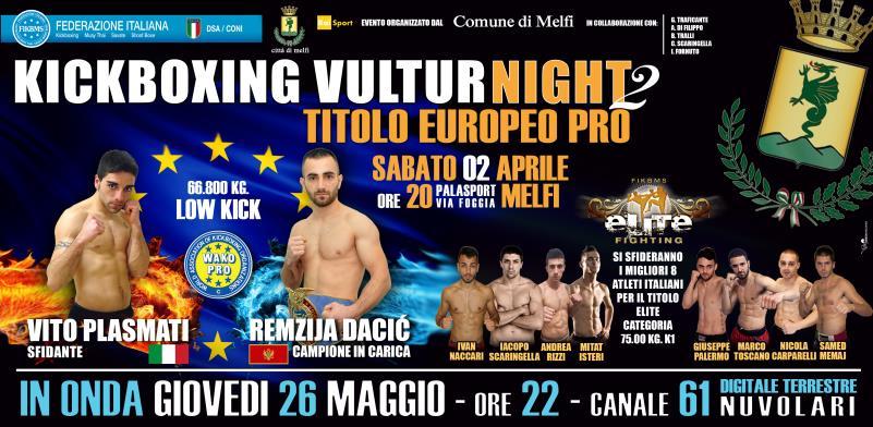 Kickboxing Vultur Night 2