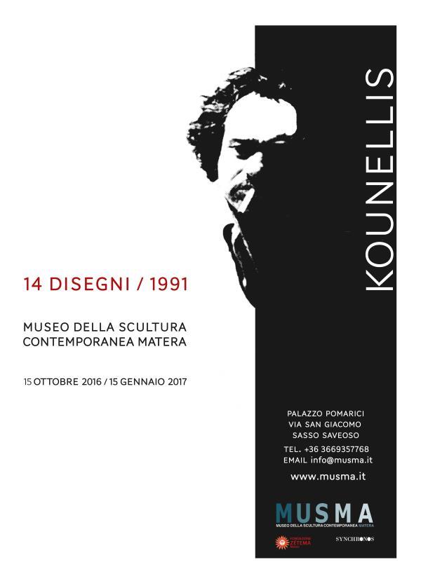 Kounellis/14 disegni/1991