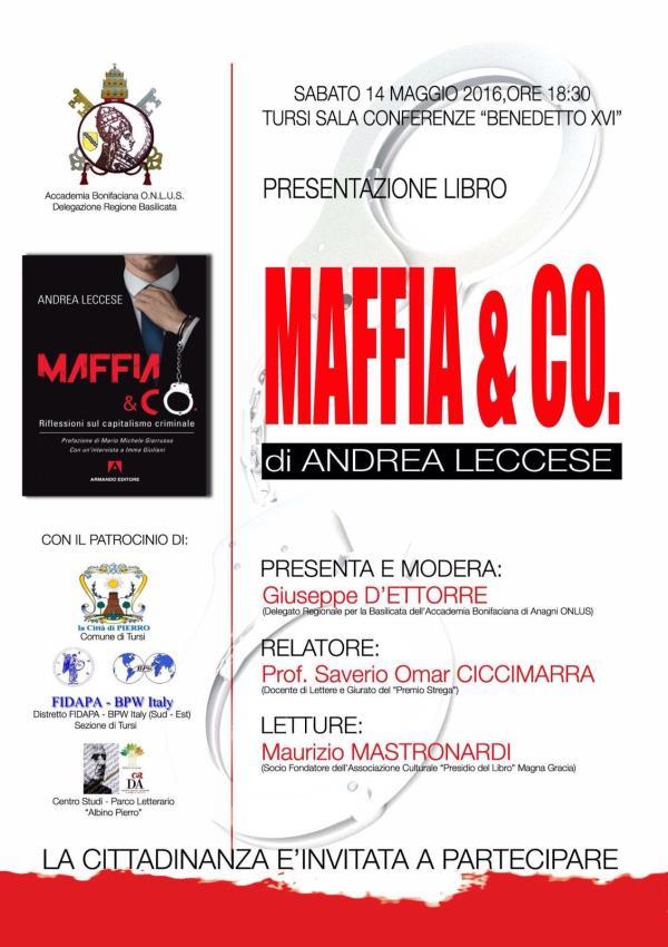 Maffia & Co - 14 Maggio 2016