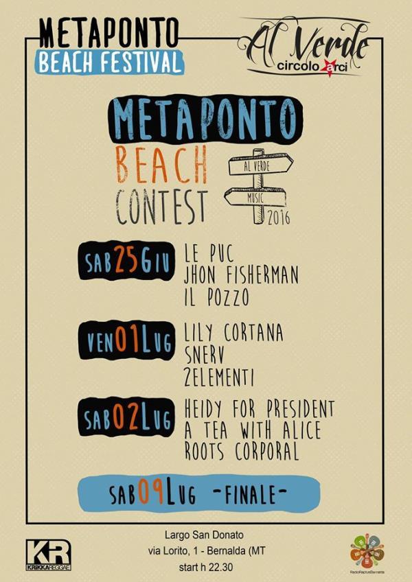 MetapontoBeach Festival 2016