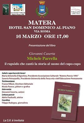 Michele Parrella - Il rapsòdo che cantò la storia al suono del cupo cupo - 16 Marzo 2016