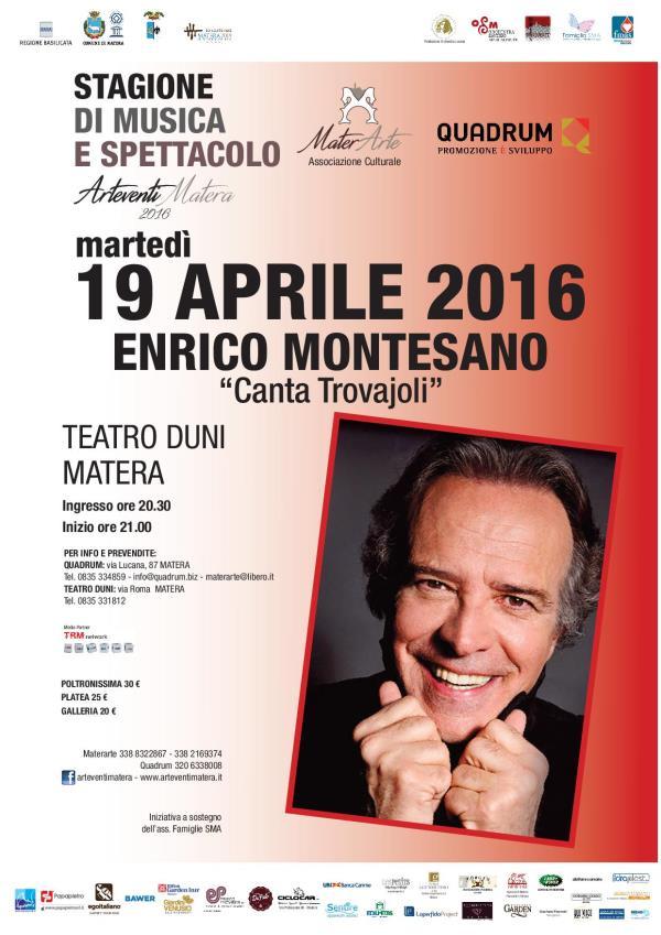 Montesano canta Trovajoli - 19 Aprile 2016