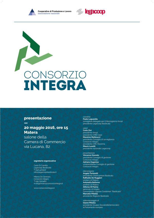 Presentazione del Consorzio Integra