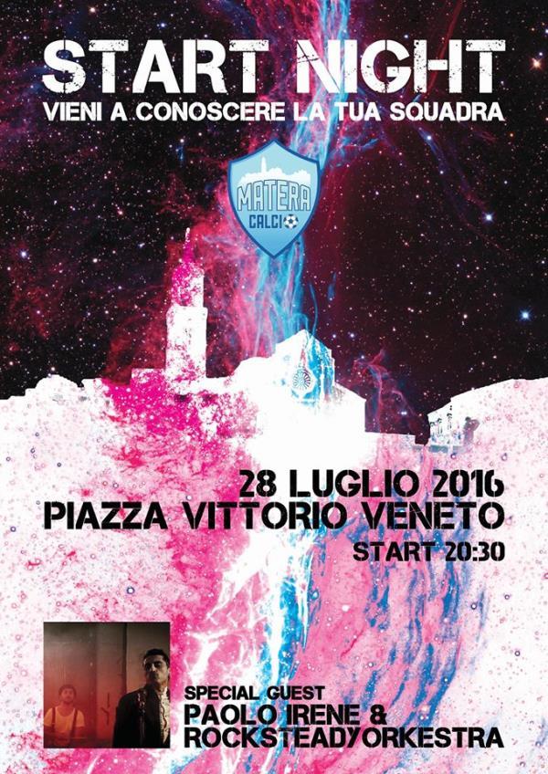 Presentazione Matera Calcio - Start Night