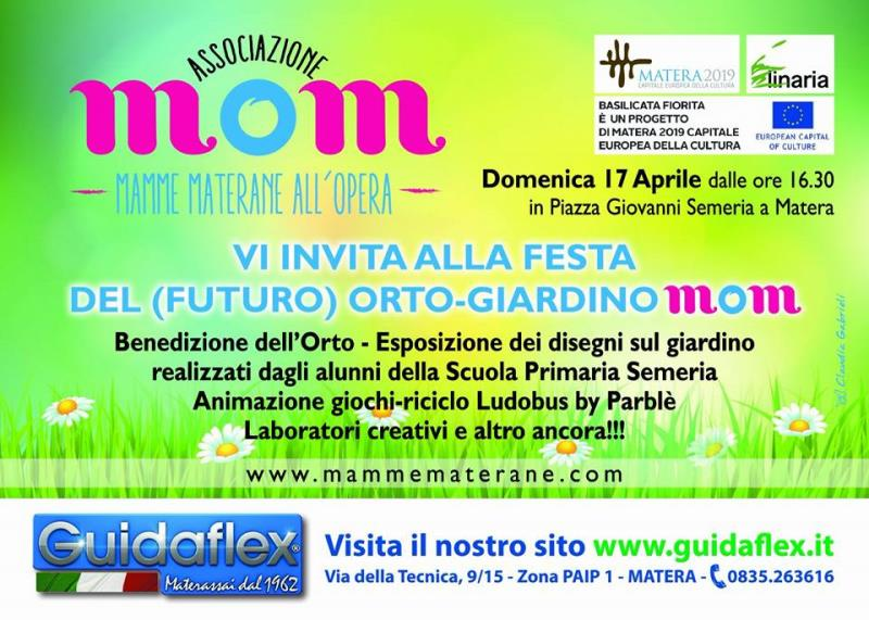 Prima festa orto-giardino Mom - 17 Aprile 2016