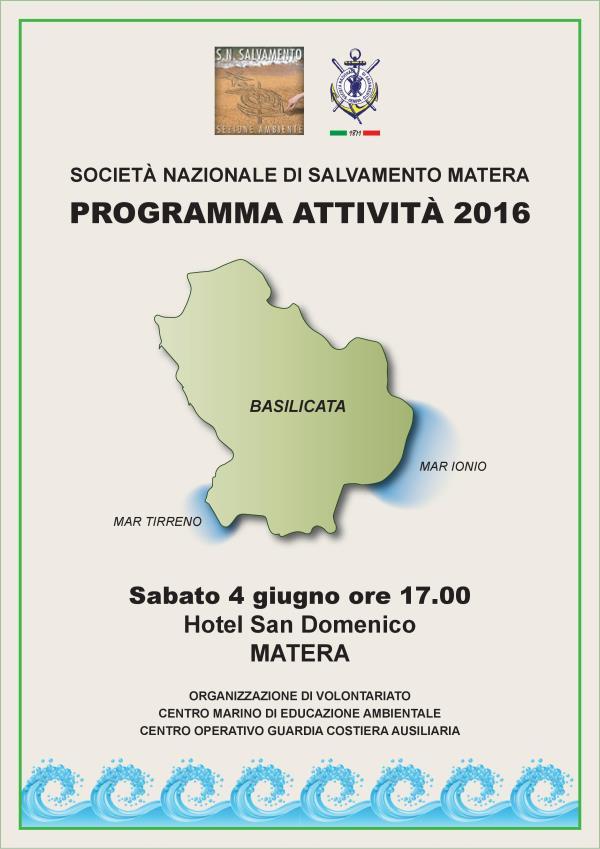Programma attività 2016 - 4 Giugno 2016